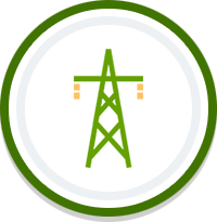 Grid Strengthening Icon